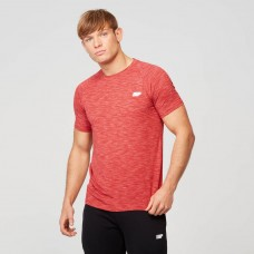 PERFORMANCE SHORT-SLEEVE TOP - RED